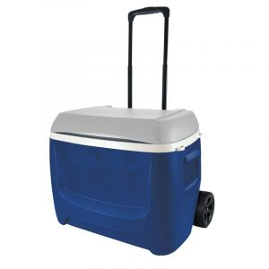 Thùng đá Igloo Island Breeze 57L Roller (Blue/Gray)
