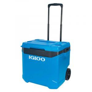 Thùng đựng đá Igloo Latitude 57L Roller (Blue/Black)
