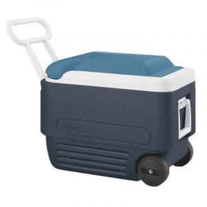 Thùng giữ lạnh Igloo Maxcold Roller 38L (Jet Blue)