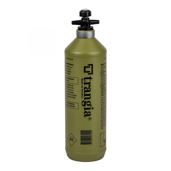 Bình đựng nhiên liệu Trangia Fuel bottle - 1L Olive