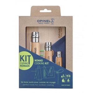 Bộ dao dã ngoại Opinel Nomad cooking kit - Box