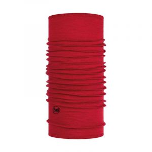 Khăn Buff Lightweight Merino Wool Neckwear - Solid Red