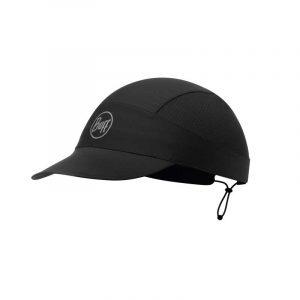 Mũ chạy bộ Buff Pack Run Cap R-Solid Black