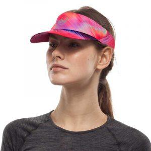 Nón thể thao hở đầu BUFF Reflective Visor - R-Shining Pink Lifestyle