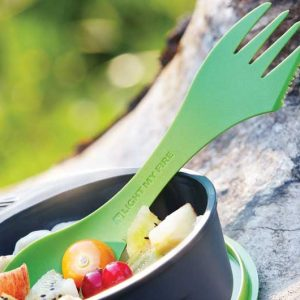 Muỗng nĩa dao Spork original 4-pack Light My Fire - Lifestyle