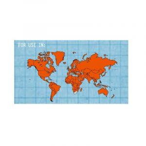 Bộ phích cắm du lịch Universal Lewis N Clark Adapter Plug Kit - Map