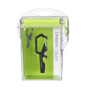 Móc chìa khóa UrbanGear SurvivalTool + Hộp chống nước
