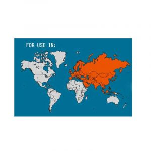 Phích cắm du lịch (Europe/Asia) Lewis N Clark - Map