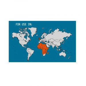 Phích cắm du lịch (Great Britain/Africa) Lewis N Clark - Map