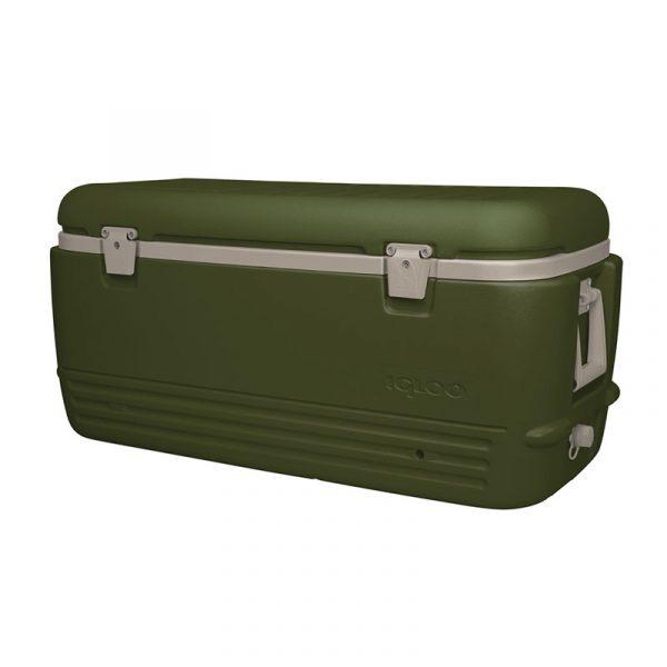 Thùng giữ lạnh Igloo Sportsman 95L - Green/Tan