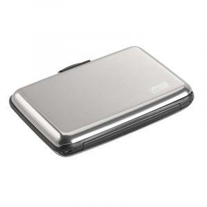 Ví đựng thẻ Lewis N Clark RFID-Blocking Alu Wallet Silver