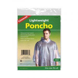 Áo mưa dã ngoại Coghlans Poncho Clear