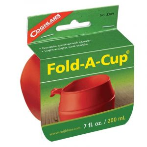 Ly xếp du lịch Coghlans Fold-A-Cup 200ml