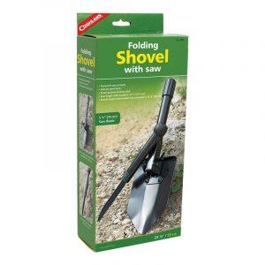 Xẻng xếp kèm lưỡi cưa Coghlans Folding Shovel w/Saw