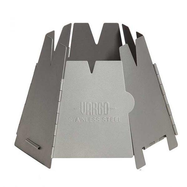 Bếp củi Vargo Hexagon Wood Stove - Stainless Steel Version