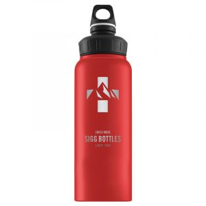 Bình nước SIGG WMB Mountain 1L - Red Touch