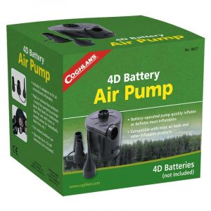 Bơm hơi pin Coghlans 4D Battery Air Pump