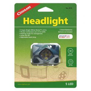 Đèn đội đầu Coghlans 5 LED Headlight