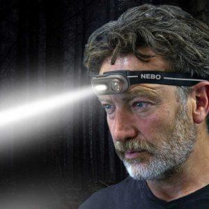 Đèn đội đầu Nebo Einstein 400 Lumens - Spotlight