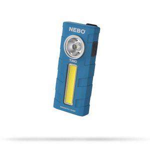 Đèn pin bỏ túi Nebo TiNO AAA 300 Lumens -Blue