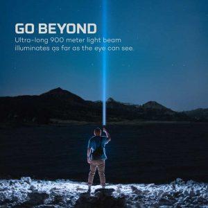Đèn pin Nebo Luxtreme 500 Lumens 900m - Beam