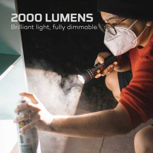 Đèn pin Nebo Slyde King 2K Lumens - 2000 lumen