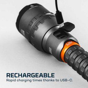 Đèn pin sạc Nebo 12K Lumens - Rechargeable