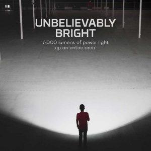 Đèn pin sạc Nebo Redline 6K Lumens - Bright