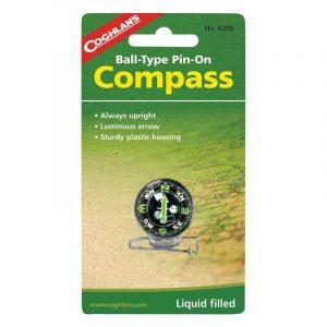 La bàn ghim Coghlans Pin-On Compass
