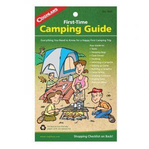 Sổ tay hướng dẫn cắm trại lần đầu Coghlans First Time Camping Guide, dành cho cha mẹ hoặc ông bà chuẩn bị đi cắm trại