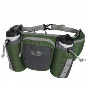 Túi hông chạy bộ Wenzel Freerun 2 Bottle 590ml Forest Green