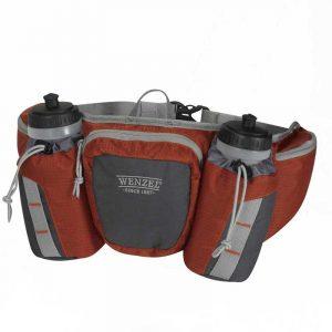 Túi hông chạy bộ Wenzel Freerun 2 Bottle 590ml Russet