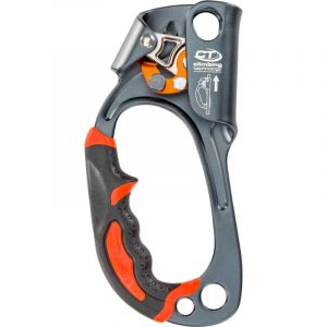 Khóa tay leo Climbing Technology QUICK'UP PLUS - Left Gray Front
