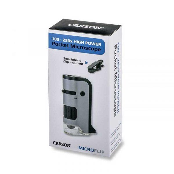 Kính hiển vi Carson MicroFlip 100-250x MP-250 Box