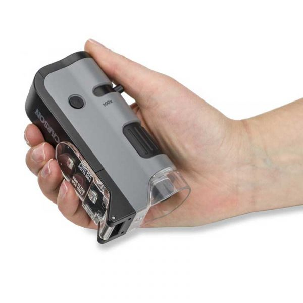 Kính hiển vi Carson MicroFlip 100-250x MP-250 Hand