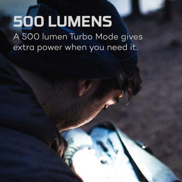 Đèn đội đầu Nebo Einstein 500 Lumens Headlamp