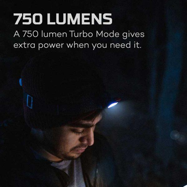 Đèn đội đầu Nebo Einstein 750 Lumens Headlamp