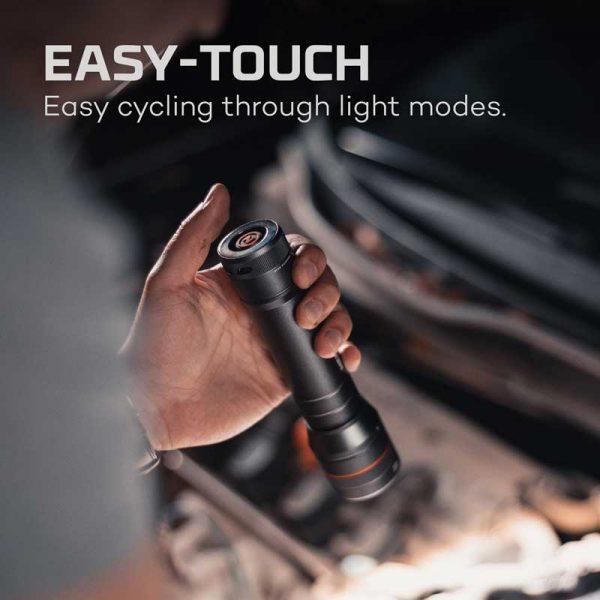 Đèn pin Nebo Newton 1000 Lumens AA Flashlights - Easy Touch