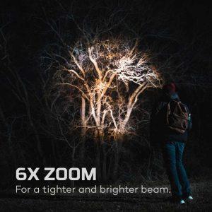 Đèn pin sạc Nebo Davinci 1000 Lumens Rechargeable - Zoom