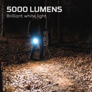 Đèn pin sạc Nebo Davinci 5000 Lumens Rechargeable