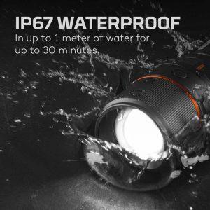 Đèn pin sạc Nebo Davinci 5000 Lumens Rechargeable - Waterproof