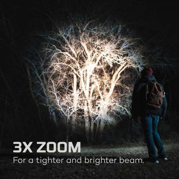Đèn pin sạc Nebo Davinci 5000 Lumens Rechargeable - Zoom