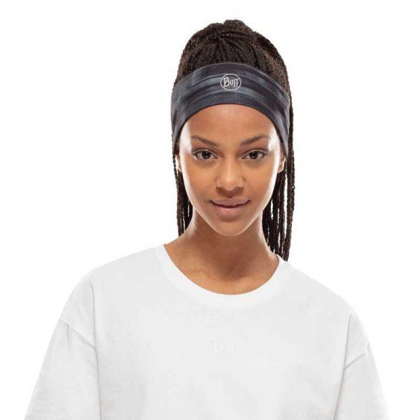 Băng đô thể thao Buff Fastwick Headband Wira Black Lifestyle