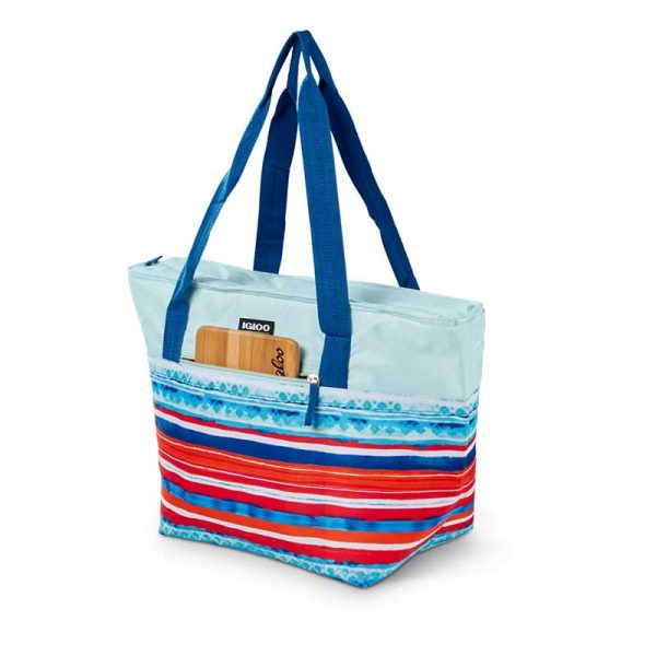 Túi giữ lạnh Igloo Shopper 30lon Tote - Stripes